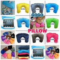 Wholesale 2015 new Pillow in U shaped Pillow seat cushions Travel Pillow iPad Tablet Case Car waist neck pillow nap pillow BBB3214