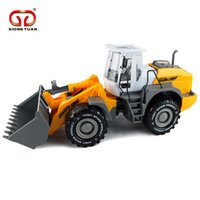 Wholesale Xiongyuan large children toy car model engineering forklift bulldozer inertia beach toy car factory direct sales