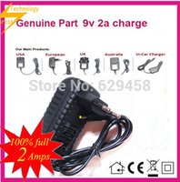Wholesale V A EU AC Home Adapter Power Supply Wall Charger for Archos Arnova G2 G2 AN9G2 Aoson M19 Tablet PC