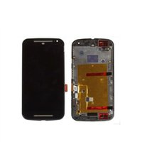 Wholesale LCD Screen display For Motorola MOTO G2 G XT1063 XT1068 XT1069 with frame black LCD Display Replacement Touch Screen Digitizer PC