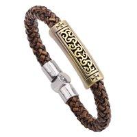 rune - 2016 NEW Korean Han Feng jewelry making leather bracelet auspicious clouds Rune men s bracelet manufacturers accessories