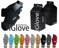 Wholesale 2015 new With retail pack High quality Unisex iGlove Capacitive Touch Screen Gloves for ipad for smart phone iGloves gloves