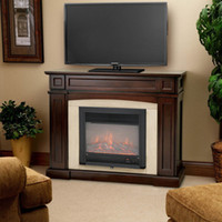 electric fireplace - 28 quot W Electric Embedded Firebox Fireplace Inserts Heater w Remote Control