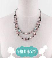 azure pendant necklace - Singh blue jewelry shop GAP Azure Amidst the original single necklace earring sets original dollars