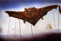 bats pics - Salvador dali Paintings for sale Bat Pics abstract art Home Decor High Quality Handmade