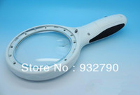 Wholesale 3X X ILLUMINATED MAGNIFYING GLASS MAGNIFIER WITH LED LIGHT READ Magnification order lt no track