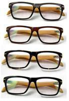 wood planks - wood optical frames bamboo spectacles acetate plank frame bamboo temple eyewear vintage eyeglasses