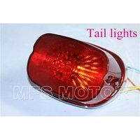 led light parts - motorcycle parts LED RED Tail Light For Harley XL FLSTF Touring models FLHRC FLHTC FLHTCU FLHTK