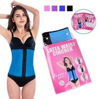 Cheap corset body shaper Best Latex Waist Cincher Slimming Belt
