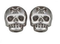 Wholesale 2015 Fashion Cool Skull Crystal Earrings for Men Bijoux Women Brincos Para As Mulheres CZ Diamond Jewelry Earring E913