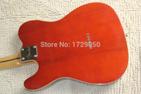 Wholesale Chinese Factory musical Instruments Custom NEW TL Deep red Electric Guitar