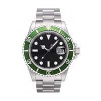 automatic - Mens automatic watch luxury swiss men watches automatic movement mechanical green bezel date dive wristwatch