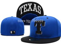 mlb caps - Texas Rangers Baseball Cap Embroidered Team logo MLB Fitted Cap Famous Star Hip Hop