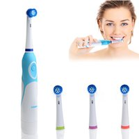battery operated toothbrushes - Tooth Brush New Set Adults AZDENT Electric Toothbrush with Brush Head Battery Operated Teeth Brush Oral Hygiene