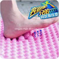 Wholesale Acupressure foot reflexology acupressure mat cushion pressure plate toe board Toe Foot Acupressure version DHL freeshipping