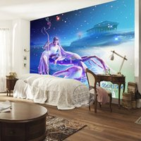 art cancer - 12 Constellations Cancer Wallpaper Gorgeous Galaxy photo wallpaper Custom D Wall Murals Art Room Decor Kids Boys Bedroom Interior Design