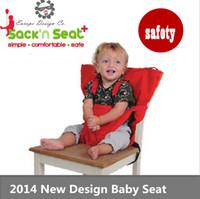 Wholesale Brand Portable Baby Kids Chair Child High Chairs Seat Belts Safety Belt Folding Dining Feeding bolsa Cadeira De Bebe furniture
