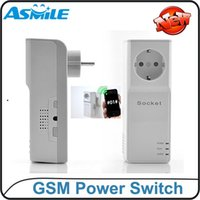 Wholesale Wireless Phone Remote Control Switch GSM Power Outlet Remote Control Socket GSM Switch