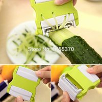 apple utensil - 2015 Creative Vegetable fruit Twister Cutter Slicer Processing planing Kitchen Utensil Tool Salad tools tools for apple Cucumber