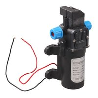 Wholesale DC V W High Pressure Micro Diaphragm Water Pump Automatic Switch L min NVIE order lt no track