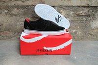 athletic shoe types - New Type ES ACCEL SQ Male Shoes Hard Wearing Street Footwear Black Anti Fur Athletic Sneakers