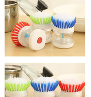automatic window cleaner - Creative kitchen kitchen washing the dishes help automatic hydraulic cleaning brush pot automatic charging device