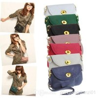 Wholesale New Fashion Women Messenger Bag PU Leather Crossbody Satchel Shoulder Handbag