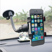 Wholesale Universal Sucker Holder Car Holder For Iphone Plus s Stand Display for Samsung Note S5 S6 edge Support Mobile Phone Holder