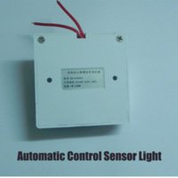 Wholesale 20 PIR LED Sensor Light Aluminium Alloy Solar LED Street garden courtyard light with PIR motion and night sensor