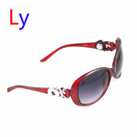 asian fit goggles - Red Ginger Snap Button Women Sunglasses Goggle Glasses Eyewear UV Protection Sunglasses Fit Snap button jewelry AC224