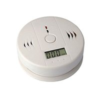 Wholesale Home Security CO Carbon Monoxide Poisoning Smoke Gas Fire Warning Alarm Sensor Monitor Detector with Loud Alarm