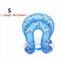 Wholesale Boys and girls swim ring life buoy adult lifejacket swimming laps armpit from the tour Arm Floats Inflatable Circle Swim Ring Child