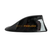 Wholesale Good quality for Car Black Waterproof Universal Shark Fin Roof Decorative Antenna With FM AM Radio Function