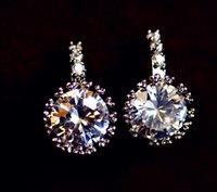 gemstone earrings - Zircon earrings gemstone earrings