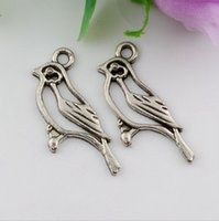 antique jewelry designs - Hot Antique Silver Single sided design Hollow bird Charm pendants DIY Jewelry x mm