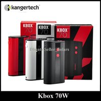 battery charging temperature - Authentic Kanger Kbox W Box Mod mAh Built In Battery Temperature Control Ni200 Ti Coil Thread Micro USB Charging