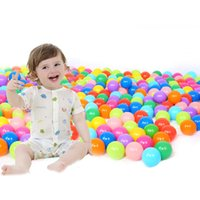beach ball candy - cm Ball Pits Eco Friendly Candy Color Soft Plastic Tent Water Pool Ocean Wave Ball Baby Funny Toys Beach Ball