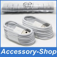 Wholesale 1M Ft MFi Pin Pin Sync Data Lightning to USB Cable Charging Cords Charger Wire Line for iPhone s s SE s Plus iPad Pro IOS