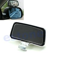 Wholesale 1PAIR Universal Car Vehicle Side Blindspot Blind Spot Mirror Wide Angle View Safety S order lt no track