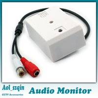 Wholesale audio monitor sound voice pickup for security surveillance cctv camera