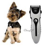 electric comb - Professional Pet Dog Hair Trimmer Clipper Rechargeable Animal Electric Cat Grooming Hair Cutter Shaver Razor With Comb Brush R61