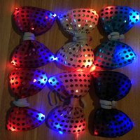 Wholesale 2015 Best Quality Hot Gifts Christmas Club Party Flashing LED Bow Tie Factory Supply Directly