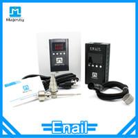 best portable heaters - Portable domeless Enail best sale quartz enail coil heater with pin xlr plug Enail kit Majesty Enail