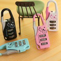 Wholesale High Quality Fashion Mini Travel Luggage Box Backpack Suitcase Bag Safe Combination Code Number Lock Padlock Locker