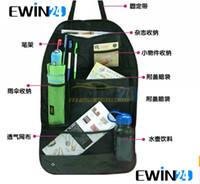 Wholesale Car Auto Back Seat Organizer Collector Storage Multi Pocket Holder Hanging Bag Black