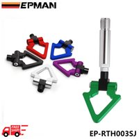 Wholesale Free DHL EPMAN Billet Aluminum Front Rear JDM Japanese Car Auto Triangle Ring Trailer Tow Hook Kit For TOYOTA Yaris EP RTH003SJ