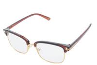 Wholesale 2016 Women Men Eyeglass Frames Plain Optical Eyewear Students Fashion Reading Computer Driving Glasses Clear Lens Myopia Glasses