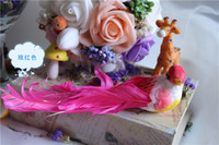 artifical birds - Zakka hand for feather small Large props for home decor artifical birds