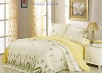 Wholesale Pure cotton Bedding set Set Home textiles Bedding supplies Duret covers Sheet Set Bed goods Breathable Comfortable Soft