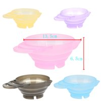 Wholesale 350ml Hairdressing Salon Hair Color Dye Bowl DIY Coloring Mixing Bowl Hair Care color styling tools colors for choose H13517